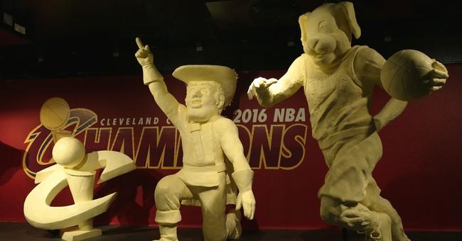Butter sculpture offers Cavs fans new way to savor NBA title