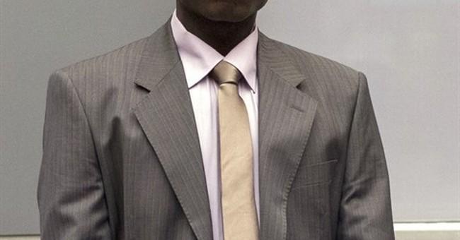 Ugandan rebel appearing before judges at pretrial hearing
