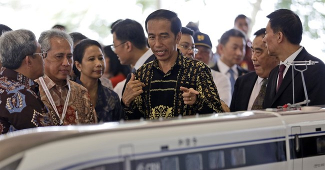 Indonesia starts construction of high-speed rail line