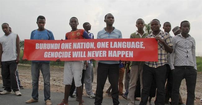 UN Security Council visits violence-wracked Burundi