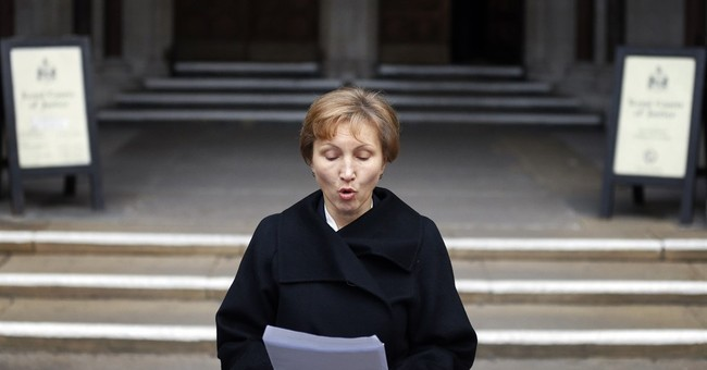 The Latest: US looking closely at UK report on Litvinenko