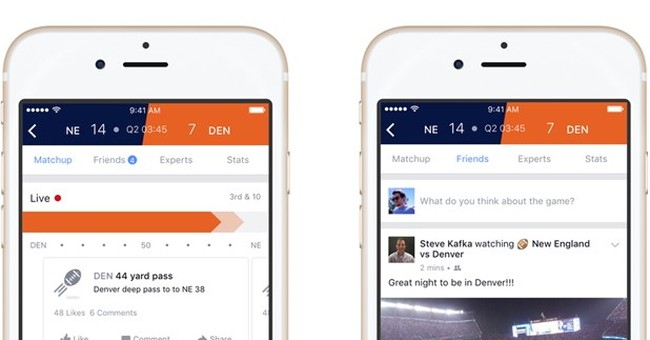 Facebook's sports product to launch during NFL championships