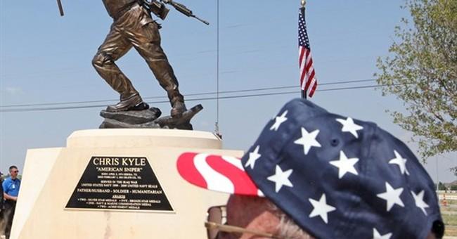 Memorial to slain Navy Seal Chris Kyle unveiled in Texas