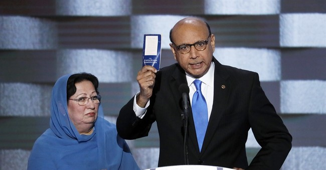 Father of fallen Muslim soldier blasts Trump at convention