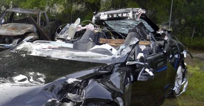 AP Sources: Tesla looking at cameras, radar in Florida crash