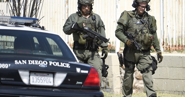 The Latest: Suspect named in San Diego police shootings