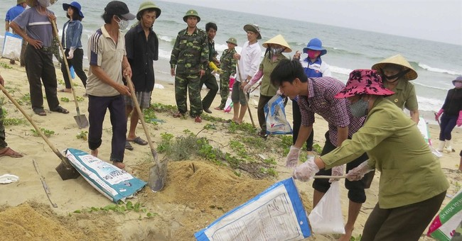 Vietnam says Taiwan firm's pollution affected 200,000 people
