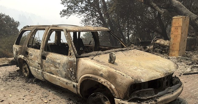 The Latest: Wildfire near Big Sur destroys 57 homes