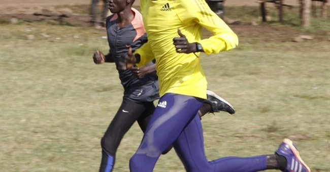 Refugees run long, inspiring road to Rio's world stage