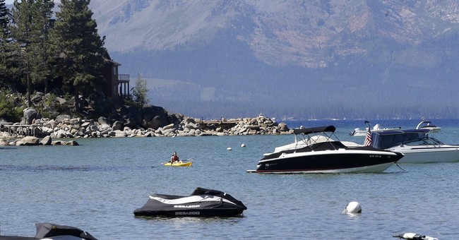 Lake Tahoe warming 15 times faster than long-term average