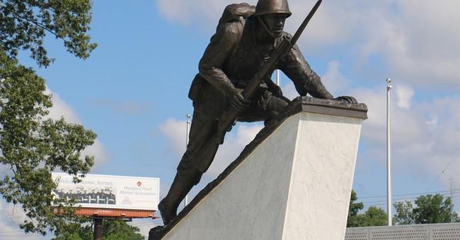 Memorial to 1st black Marines dedicated at Camp Lejeune