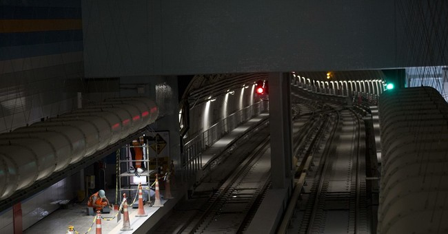 Brazil cuts ribbon on new subway line crucial for Olympics