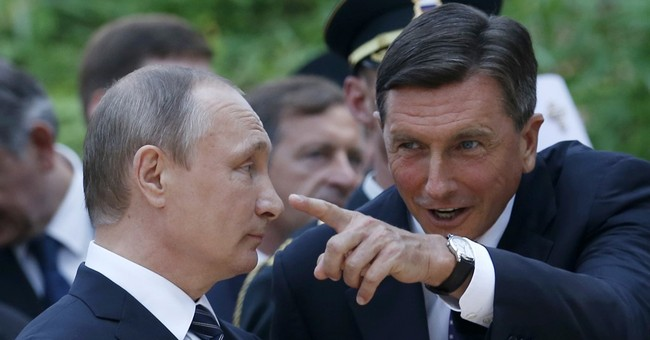 Putin tests West's sanctions resolve on visit to Slovenia