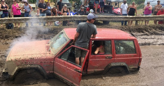 Heck, yeah! Rednecks hold their blanking Summer Games