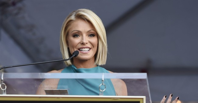 Kelly Ripa not saying who she'd like as new 'Live!' co-host
