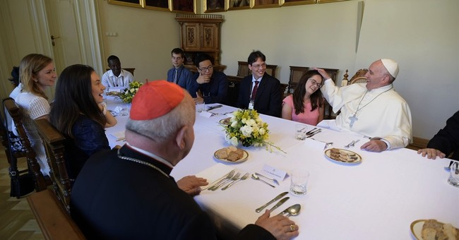 Pope to young: Try politics, activism; don't be couch potato