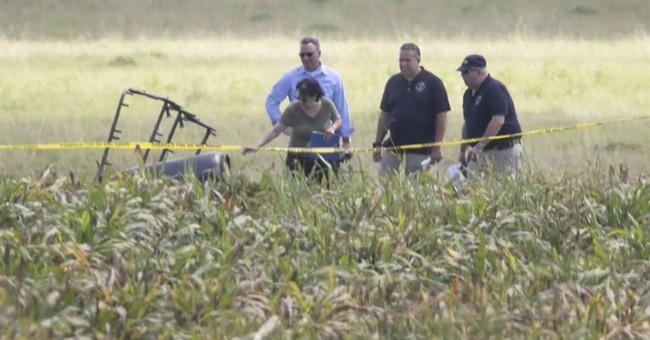 Officials: No apparent survivors in Texas balloon crash