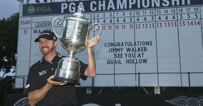 Walker makes it a sweep of first-time major winners in 2016