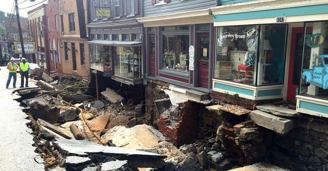 2 dead after historic Maryland town ravaged by floodwaters