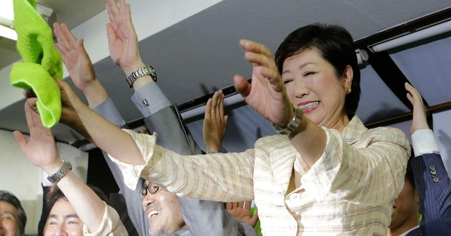 Tokyo elects 1st female governor to lead city into Olympics