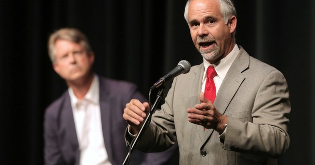 Congressman's combativeness biggest issue in Kansas race