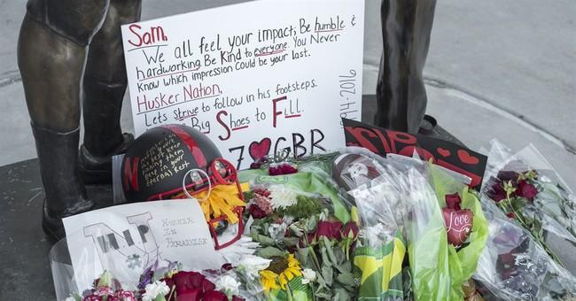 Roughly 1,500 attend memorial for Nebraska punter Saturday