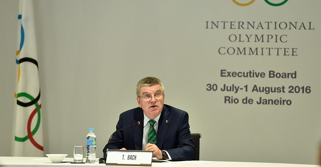 Bach defends IOC handling of Russian doping scandal