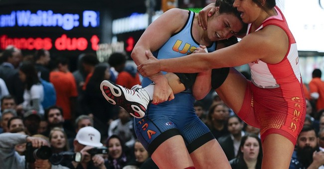 Adeline Gray beat the boys at wrestling, ready for Rio