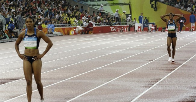 Golden rule: For US relays, holding onto baton is job No. 1
