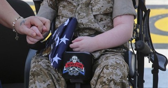 Boy dies after being named honorary Marine in California