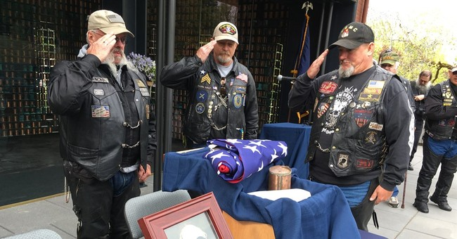 Civil War vet's ashes are on motorcycle ride across America