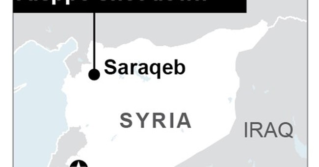 The Latest: UN hopes intra-Syrian talks to start this month