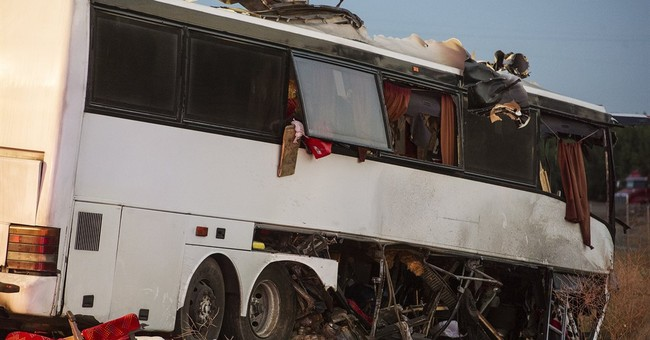 Probe of fatal California bus crash starts with driver, bus