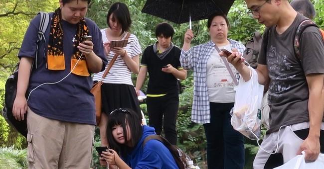 Kyodo: Japan gymnast strikes out with 'Pokemon Go' in Brazil