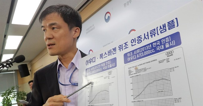 South Korea fines, halts sales of VW cars for forged tests