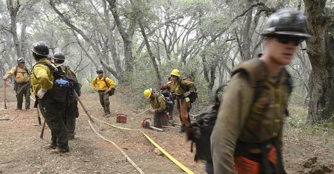 Several Western states battling raging wildfires