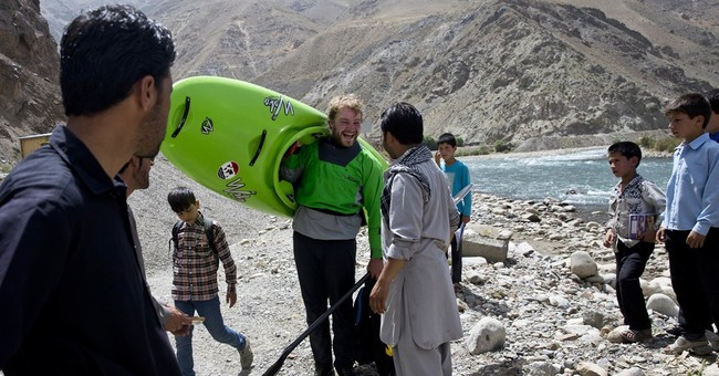 Afghanistan's extreme geography attracts extreme sports