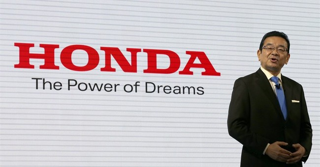 Honda's quarterly profit sinks 6 percent amid quake damage