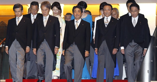 Japan picks defense chief who downplays wartime past