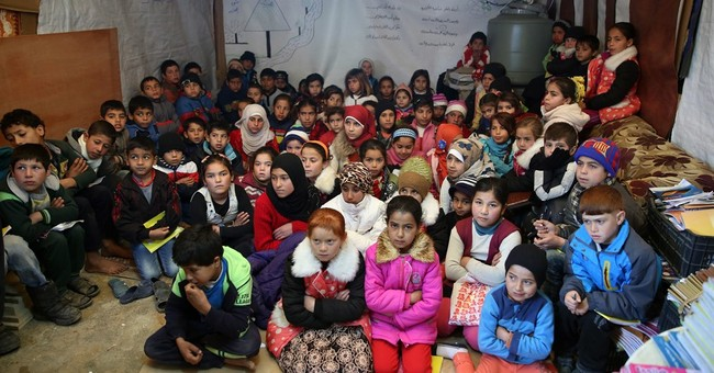 Despite pledges, 1 million Syrian refugees are out of school