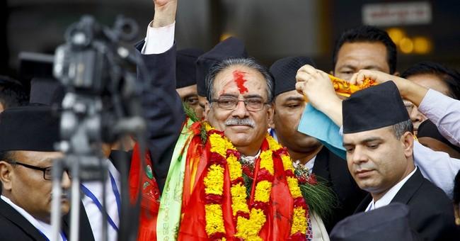 Former Nepal communist rebel leader elected prime minister