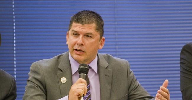 The Latest: Prosecutor: Audio of strip game on mayor's phone