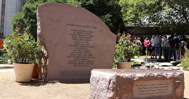 Latin lapse etched into Texas tower shooting memorial