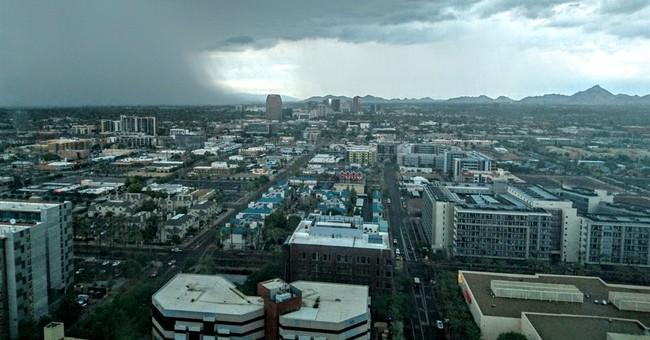 Storms return to Southwest, but less intense than earlier