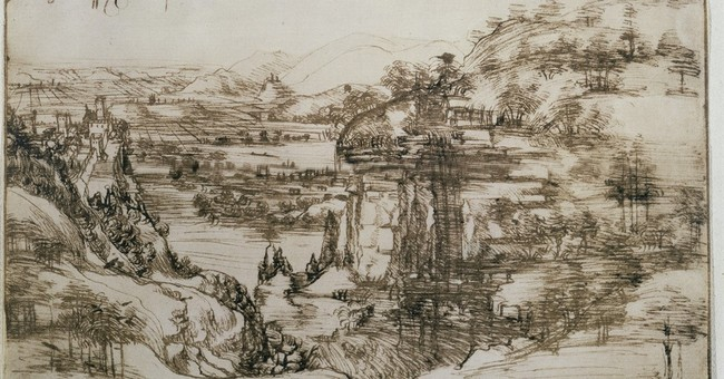 Early Leonardo drawing to be shown in artist's native Vinci