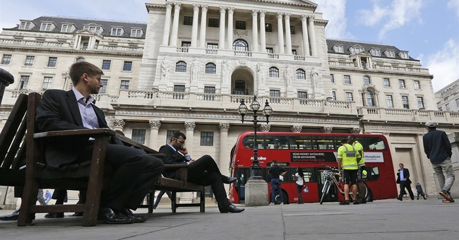 The Latest: UK central bank chief: more stimulus possible