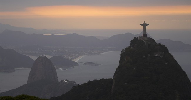 Rio delivers a simple, but spirited, Olympic welcome