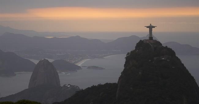 The Latest: Protesters, security clash near Rio's Maracana