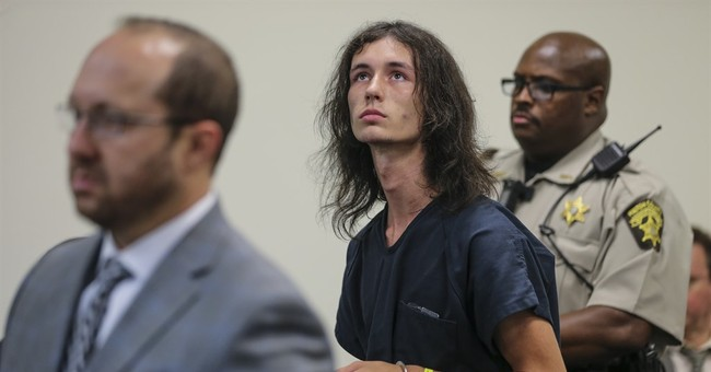 The Latest: Accused killer listed as suspect in rifle theft