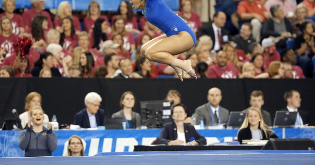 As the Olympics loom, the gymnastics party may be in college